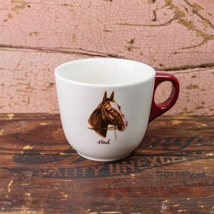 """Stud"" Horse Mug by Fishs Eddy - NEW!!"